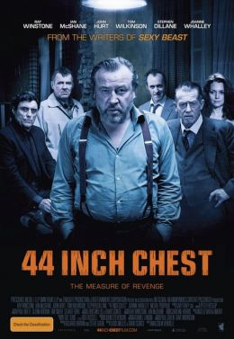 "Постер к фильму ""44 дюйма"" /44 Inch Chest/ (2009)"