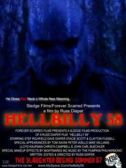 "Постер к фильму ""Адский Билли 58"" /HellBilly 58/ (2009)"
