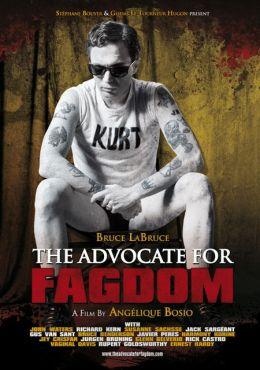 "Постер к фильму ""Адвокат гомосятины"" /The Advocate for Fagdom/ (2011)"