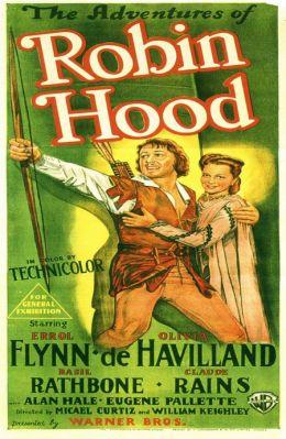 """Постер к фильму """"Приключения Робин Гуда"""" /The Adventures of Robin Hood/ (1938)"""