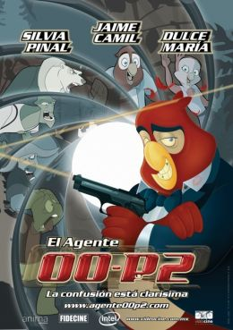 "Постер к фильму ""Агент 00-P2"" /El agente 00-P2/ (2009)"