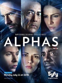 """Постер к фильму """"Люди Альфа"""" /Alphas/ (2011)"""