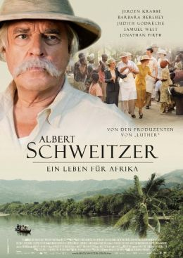 """Постер к фильму """"Альберт Швейцер"""" /Albert Schweitzer/ (2009)"""