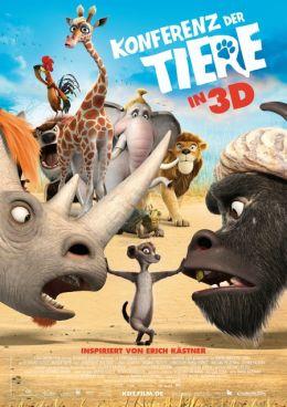 """Постер к фильму """"Союз зверей"""" /Die Konferenz der Tiere/ (2010)"""