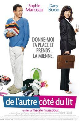 """Постер к фильму """"По ту сторону кровати"""" /De l'autre cote du lit/ (2008)"""