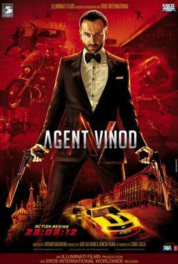 """Постер к фильму """"Агент Винод"""" /Agent Vinod/ (2012)"""