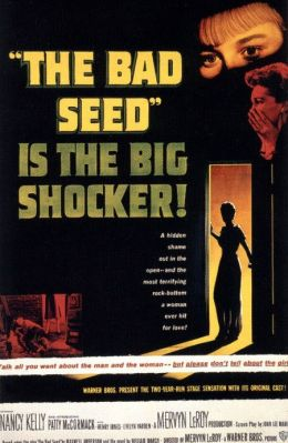 """Постер к фильму """"Дурная кровь"""" /The Bad Seed/ (1956)"""