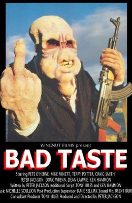 """Постер к фильму """"Инопланетное рагу"""" /Bad Taste/ (1987)"""