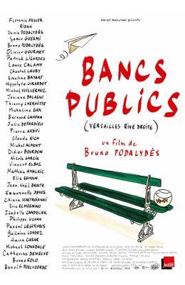 """Постер к фильму """"Однажды в Версале"""" /Bancs publics (Versailles rive droite)/ (2009)"""