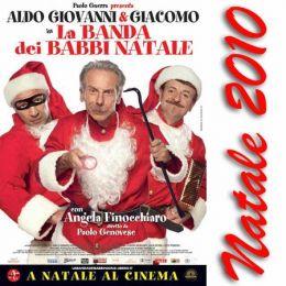 "Постер к фильму ""Банда Санта-Клаусов"" /La banda dei babbi natale/ (2010)"