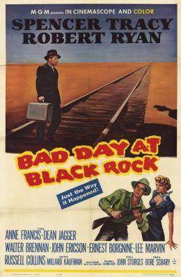 """Постер к фильму """"Плохой день в Блэк Роке"""" /Bad Day At Black Rock/ (1955)"""