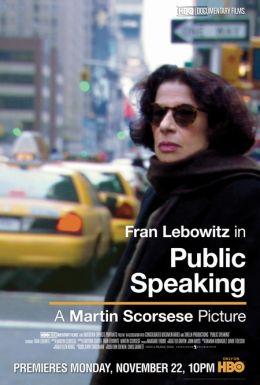 "Постер к фильму ""Беседы с Фран Лебовитц"" /Public Speaking/ (2010)"