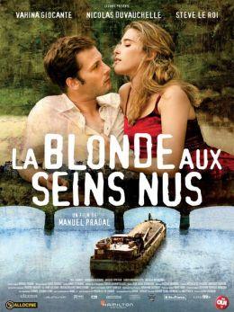 """Постер к фильму """"Блондинка с обнаженной грудью"""" /La blonde aux seins nus/ (2010)"""