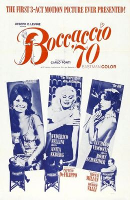 "Постер к фильму ""Боккаччо 70"" /Boccaccio '70/ (1962)"