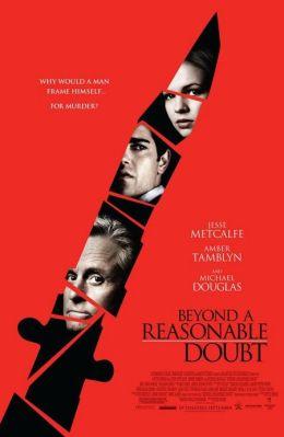 """Постер к фильму """"Разумное сомнение"""" /Beyond a Reasonable Doubt/ (2009)"""