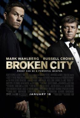 """Постер к фильму """"Город порока"""" /Broken City/ (2013)"""