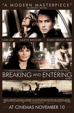 """Постер к фильму """"Вторжение"""" /Breaking and Entering/ (2006)"""