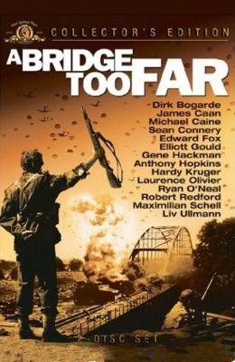 """Постер к фильму """"Мост слишком далеко"""" /A Bridge Too Far/ (1977)"""