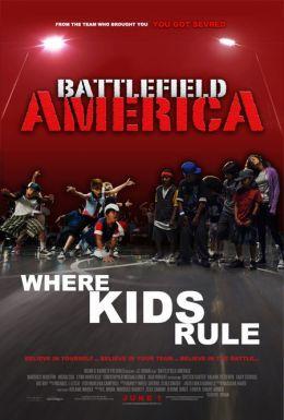 """Постер к фильму """"Недетские танцы"""" /Battlefield America/ (2012)"""