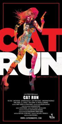 """Постер к фильму """"Всем нужна Кэт"""" /Cat Run/ (2011)"""