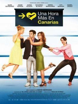 """Постер к фильму """"Час на Канарских островах"""" /Una hora mas en Canarias/ (2010)"""