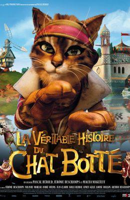 """Постер к фильму """"Правдивая история Кота в сапогах"""" /La veritable histoire du Chat Botte/ (2009)"""
