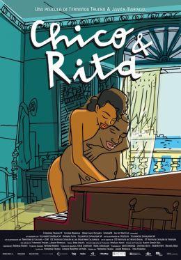 """Постер к фильму """"Чико и Рита"""" /Chico & Rita/ (2010)"""