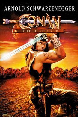 """Постер к фильму """"Конан-разрушитель"""" /Conan the Destroyer/ (1984)"""
