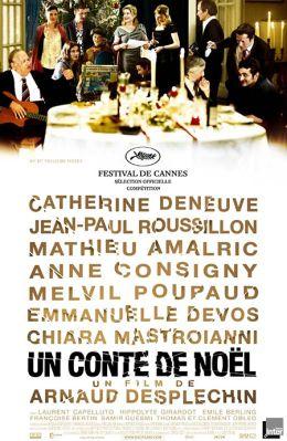 """Постер к фильму """"Рождественская сказка"""" /Un conte de Noel/ (2008)"""
