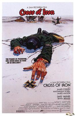 """Постер к фильму """"Железный крест"""" /Cross of Iron/ (1977)"""