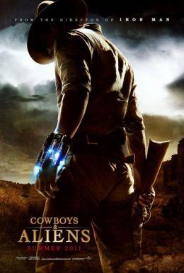 """Постер к фильму """"Ковбои против пришельцев"""" /Cowboys & Aliens/ (2011)"""