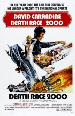 """Постер к фильму """"Смертельные гонки 2000"""" /Death Race 2000/ (1975)"""