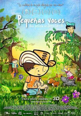 """Постер к фильму """"Детские голоса"""" /Pequenas voces/ (2010)"""