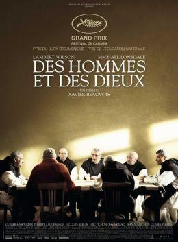 """Постер к фильму """"О богах и людях"""" /Des hommes et des dieux/ (2010)"""