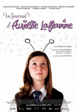 """Постер к фильму """"Дневник Аурелии Лафлам"""" /Le journal d'Aurelie Laflamme/ (2010)"""