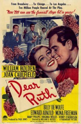 """Постер к фильму """"Дорогая Руфь"""" /Dear Ruth/ (1947)"""