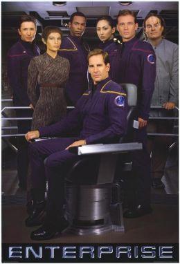 """Постер к фильму """"Стартрек: Энтерпрайз"""" /Enterprise/ (2001)"""