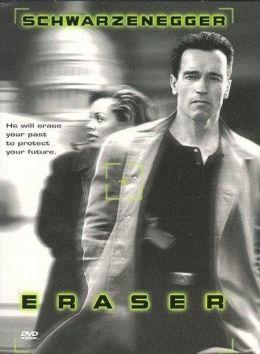 """Постер к фильму """"Стиратель"""" /Eraser/ (1996)"""