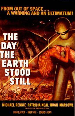 "Постер к фильму ""День, когда остановилась Земля"" /The Day The Earth Stood Still/ (1951)"
