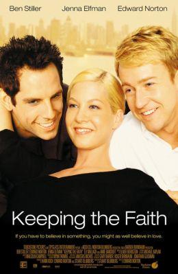 """Постер к фильму """"Сохраняя веру"""" /Keeping the Faith/ (2000)"""