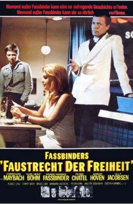 """Постер к фильму """"Кулачное право свободы"""" /Faustrecht der freiheit/ (1975)"""
