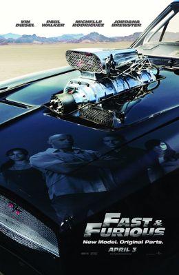 """Постер к фильму """"Форсаж 4"""" /Fast & Furious/ (2009)"""