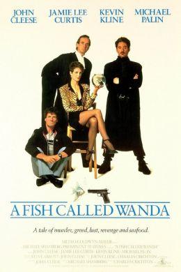 "Постер к фильму ""Рыбка по имени Ванда"" /A Fish Called Wanda/ (1988)"