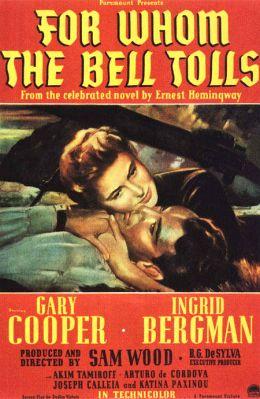 """Постер к фильму """"По ком звонит колокол"""" /For Whom The Bell Tolls/ (1943)"""