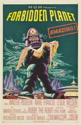 """Постер к фильму """"Запретная планета"""" /Forbidden Planet/ (1956)"""