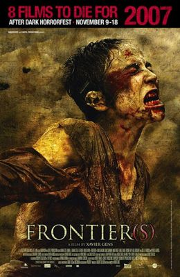 """Постер к фильму """"Граница"""" /Frontiere(s)/ (2007)"""