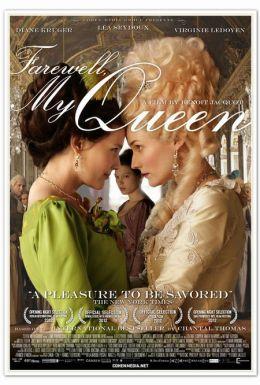 """Постер к фильму """"Прощай, моя королева"""" /Les adieux a la reine/ (2012)"""