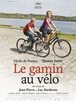 """Постер к фильму """"Мальчик с велосипедом"""" /Le gamin au velo/ (2011)"""