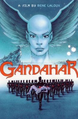 "Постер к фильму ""Гандахар"" /Gandahar/ (1988)"