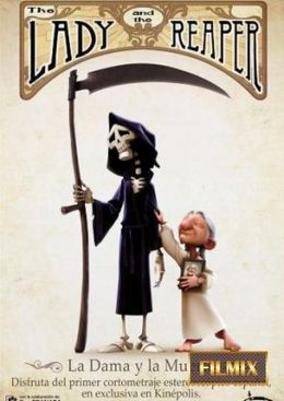 """Постер к фильму """"Женщина и смерть"""" /The Lady and the Reaper (La dama y la muerte)/ (2009)"""